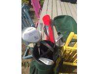Women's Golf Clubs & Bag