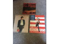 3 Bruce Springsteen concert programs plus free tribute magazine