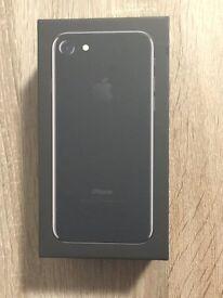 Brand New - iPhone 7 128GB - Jet Black - Unlocked