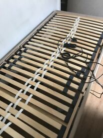 Medical electric single bed base