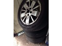 Renault alloy wheels + good tires Needs to be gone ASAP!!!!