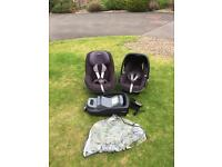 Maxi cosi pebble and pearl car seat & family isofix base