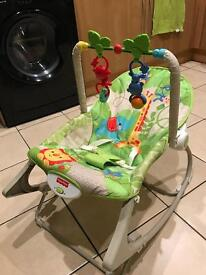 Fisher price rainforest rocker infant to toddler - Collection Only
