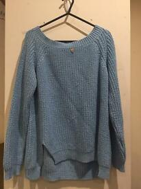 Guess blue jumper