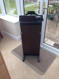 A CLASSIC CORBY 500 TROUSER PRESS AND SUIT HANGER .