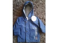 Baby boy age 3 months jacket with hood