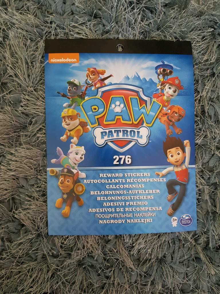 Brand New Paw Patrol Reward Stickers In Blackley Manchester Gumtree
