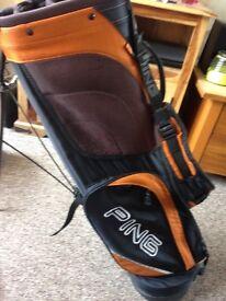 Ping hoofer elite carry bag dual strap