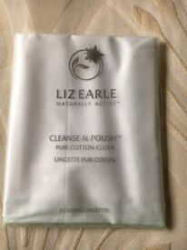 Liz Earle Cleanse & Polish Pure Cotton Cloth x2 (New & Sealed) (2 of 2)
