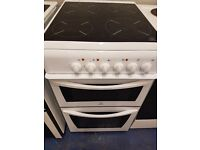 white 50cm ceramic cooker perfect working order