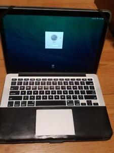 2013 Macbook pro 13 Inches