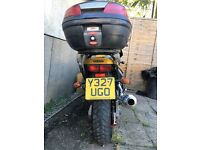 yamaha fazer 600cc , gold,1year mot, good tyres,chain,top box