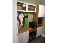 Modular office furniture from IKEA