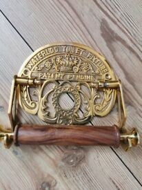 Brand New Victorian style toilet roll holder