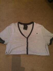 G Star v neck t shirt Large