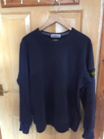 Stone Island jumper ,sweatshirt blue xl