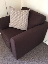 Year old DFS armchair - excellent condition