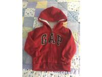 Gap Fleece Lined Winter Zip Hoodie - Age 3