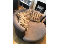 Swivel cuddle dfs large sofa