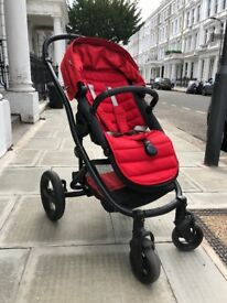 2017 Britax Affinity 2 Pushchair with Carrycot