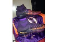 Nike Mecurial Superfly V FG Purple Dynasty/Grape Size 10
