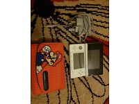 Selling nintendo 3DS with box charger console case and super mario 2
