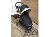Pram-Baby Jogger City Mini Single Stroller Black and Grey (included some original accesories and ...