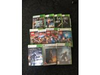 Xbox 360 and 11 games