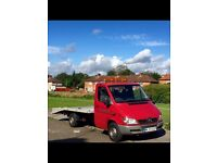 Recovery Transporter trailer Mercedes sprinter