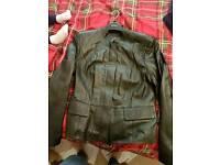 2 x ladies leather jackets