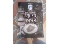 England squad 1998 medal collection