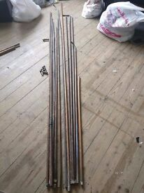 25metre x 15mm copper piping plus extras