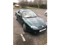 MG TF 160 very low mileage one owner huge history