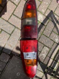 Vauxhall Astra van rear lights