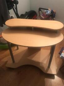 Computer table desk