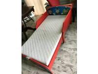 Toddlers Thomas the chuchutrain bed