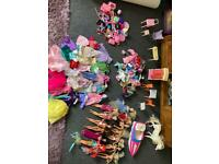 Great condition Barbie dolls bundle £60ovno