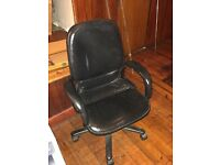 Computer Leather Chair In Good Condition Used