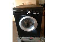 Spares or repair black washing machine