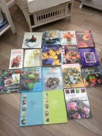 Floristry Books Great Collection Some Rare
