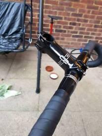 Caad c2 bars and stem / bontrager handlebars