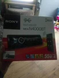 Sony mex - n4000bt