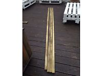 Wickes Treated Sawn 25 x 38 x 3000mm Pack 4