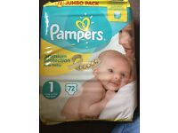 1st size nappies