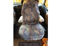 CAB SEAT COVERS X 2 for Motorhome or Van.