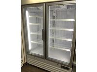 Shop Display Freezer Double Door