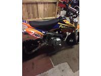 Demon 110cc pit bike