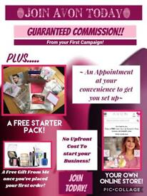 Earn Some extra money with Avon