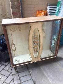 Project - vintage display cabinet