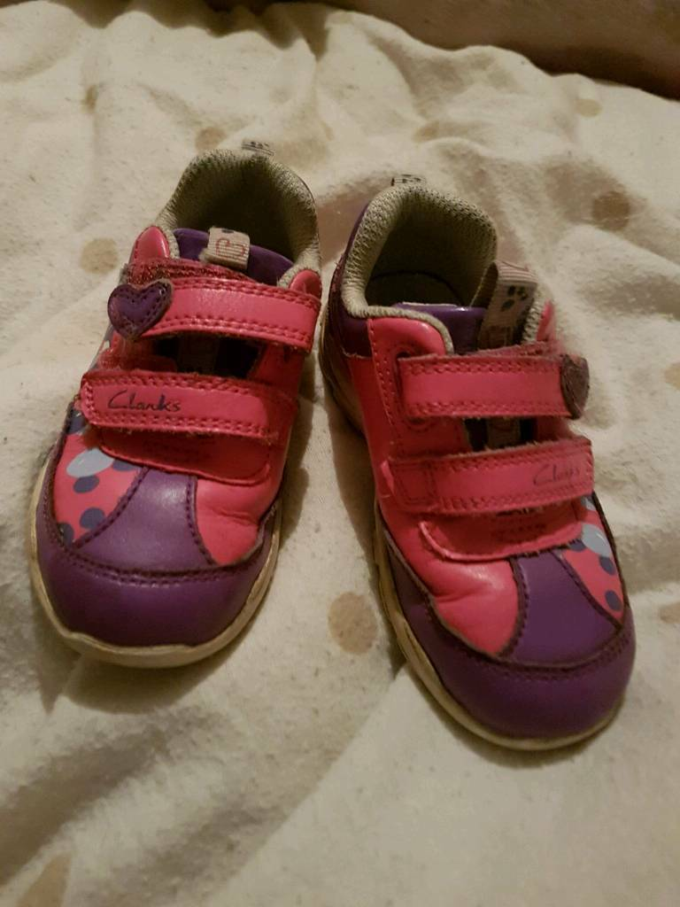 Girls Clarks trainers